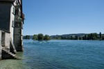 where Lake Constance becomes Rhine (again)